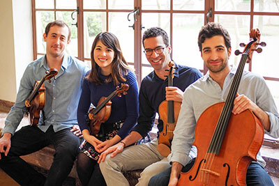 Castle Hill String Quartet Viva la Vida